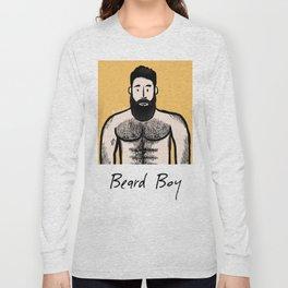 Beard Boy: Alejandro Long Sleeve T-shirt