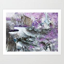 Fungal Ends Art Print