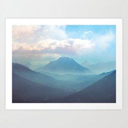Himalayan Wander Art Print