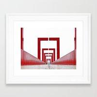 runner Framed Art Prints featuring Runner by MissCoolpics