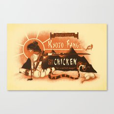 Kyoto Fang's Chicken Canvas Print