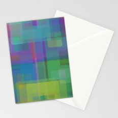 Squares#2 Stationery Cards