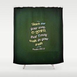 Teach Me Shower Curtain