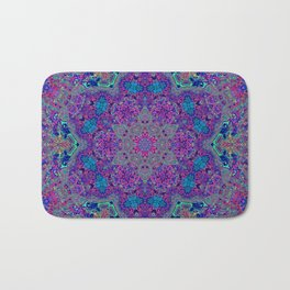 Oil Spill to Flower Bath Mat