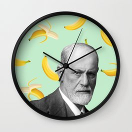 Sigmund Freud Wall Clock