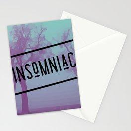 Insomniac at Night Stationery Cards