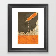 Orange Dreamsicle Framed Art Print