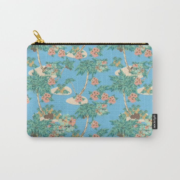 Aloha blue Carry-All Pouch
