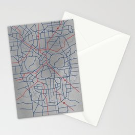 Death Toll Stationery Cards