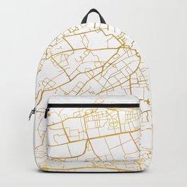 EDINBURGH SCOTLAND CITY STREET MAP ART Backpack