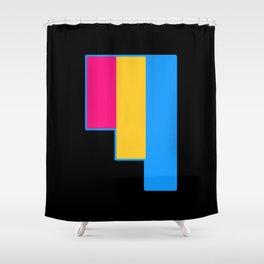Pansexual Shower Curtain