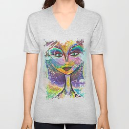 Oh My Darling, Its True. Beautiful Things Have Dents and Scratches Too Unisex V-Neck