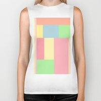 pantone Biker Tanks featuring Pantone mix by StevenARTify