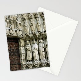 Notre Dame Cathedral Paris Detail Stationery Cards