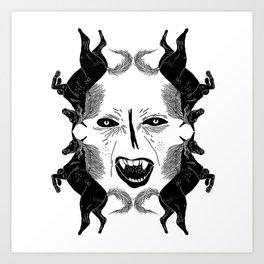 x v a m p x Art Print