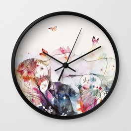 dreamy insomnia Wall Clock