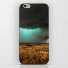 Jewel of the Plains - Storm in Texas iPhone Skin