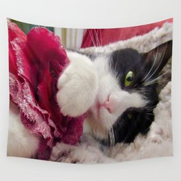 Orazio very sweet cat Wall Tapestry