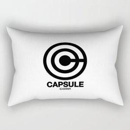 Capsule Corp Logo 2 Rectangular Pillow