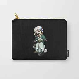 the skeleton ride motorcycle Carry-All Pouch