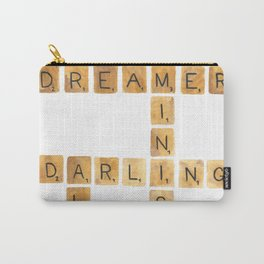 Scrabble Board for Dreamers Carry-All Pouch