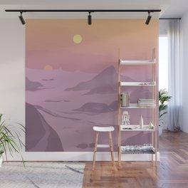 """R5-D4 Tatooine Sunset"" by Lyman Creative Co Wall Mural"