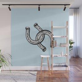 Horseshoes Wall Mural