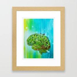 Where is my mind? Framed Art Print