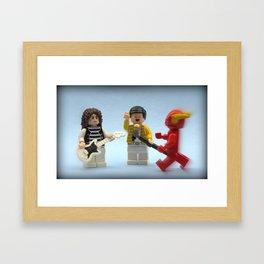 You Called ? Framed Art Print