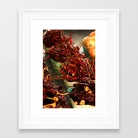 chile Framed Art Prints featuring Chile Peppers by 4364