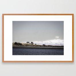 Islande // Home Framed Art Print