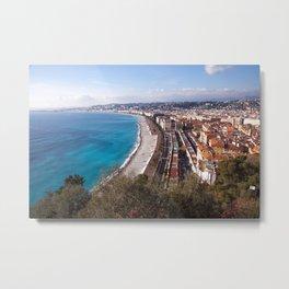 Nice France 6071 Metal Print