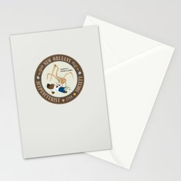 Mortui Ambulabo [New Orleans Acupuncturist Society] Stationery Cards