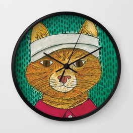 Golf Catty Wall Clock