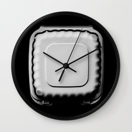 Recyclable Take Out Food Box Wall Clock