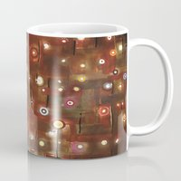 constellation Mugs featuring constellation by davina pallone