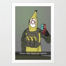 Yiga Banana War Art Print