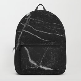 Black Rich Marble Backpack