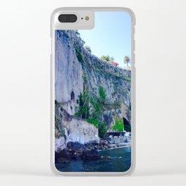 Sorrento Sunshine Clear iPhone Case