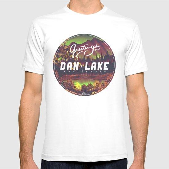 Greetings from Dan Lake CA T-shirt
