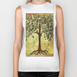 Two Birds and Their Favorite Tree Biker Tank
