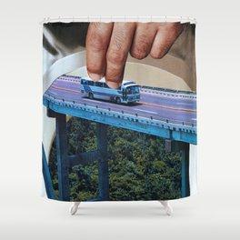 Juegos de Gigantes Shower Curtain