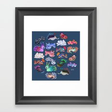 Nudibranch Framed Art Print