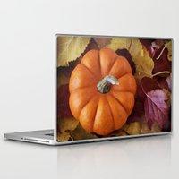 pumpkin Laptop & iPad Skins featuring Pumpkin  by brushnpaper