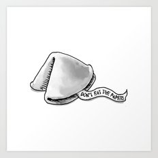 Wise Words Art Print