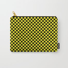 Checkered Yellow Taxi Carry-All Pouch