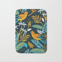 Birds in the night Bath Mat