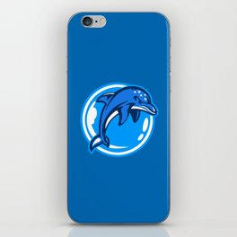 The Ecco Dolphins iPhone Skin
