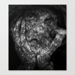 Weathered Man Canvas Print
