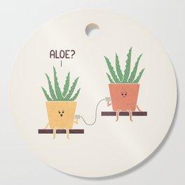 Aloe Cutting Board